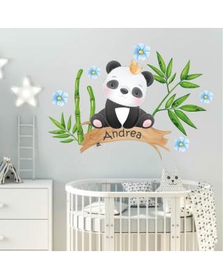 "Adesivi murali ""Panda"" maschio"