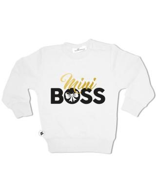 """Felpa femminuccia  """"Mini Boss"""""""