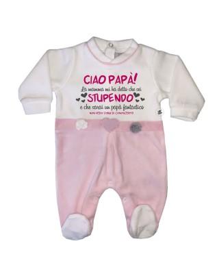 Newborn chenille Jumpsuit...