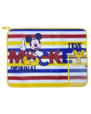 """Tovaglietta plastificata """"Mickey Original"""" bordino giallo"""