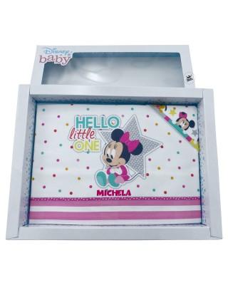"Set lenzuola ""Minnie Hello Little One"""