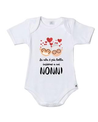 """Body neonato/a """"La vita è..."""