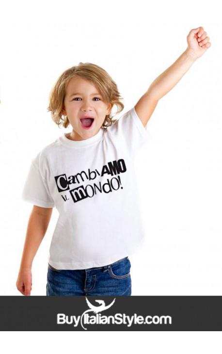 T-shirt bimbo 6mesi/14anni B06