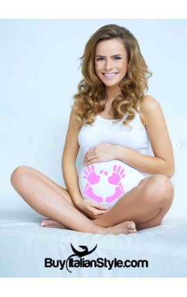 Maternity tank top printed...