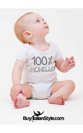 Bodino neonato 0/36 mesi B11MAS borchiette