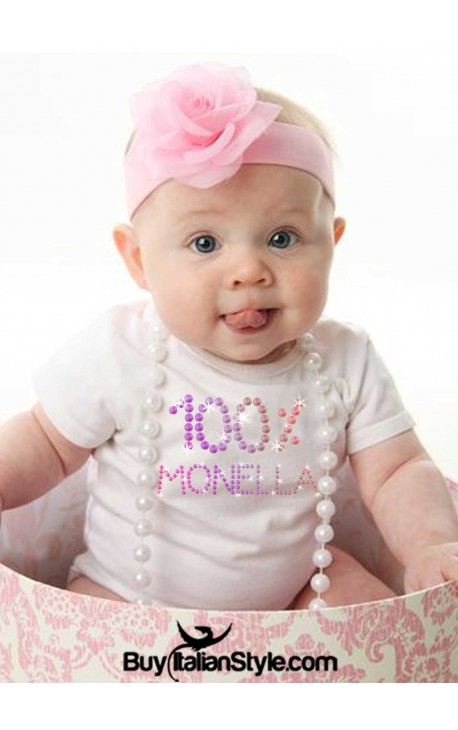 Bodino neonato 0/36 mesi B11FEM strass