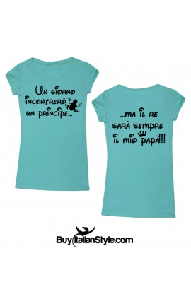 "T-shirt 18 ""Il principe e il re"""