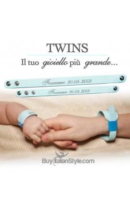 TWINS - coppia bracciali...