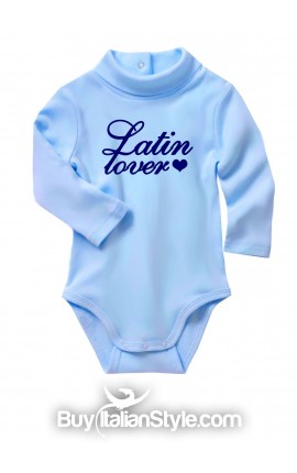 "Knit turtleneck bodysuit ""latin lover"""