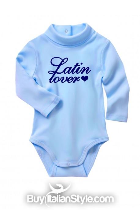 """Bodino lupetto per maschietto """"Latin lover"""""""