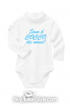 "Baby Neck Bodysuit ""I'm Granny's boy/girl"""