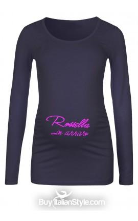 T-shirt premaman personalizzata