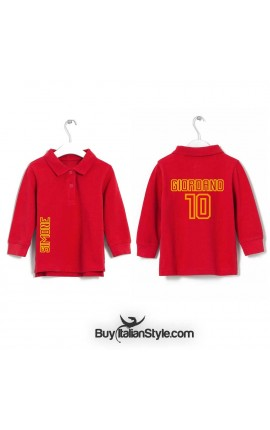Customizable Polo with name and number