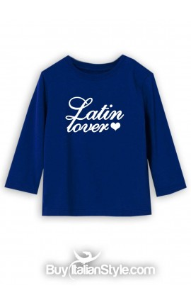 "Long sleeve t-shirt ""Latin lover"""