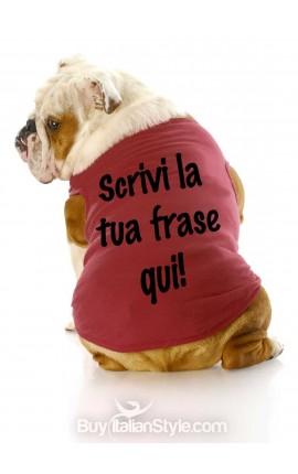 T-shirt per cani PERSONALIZZABILE