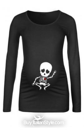 X-ray maternity T-shirt