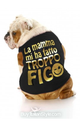 "T-shirt per cani  ""La mamma..."