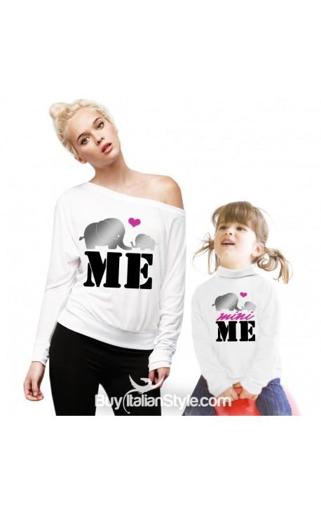 """Knit turtleneck t-shirt """"MINI ME"""""""