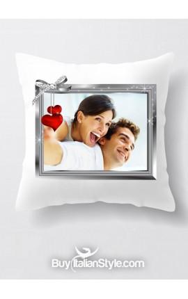 Federa cuscino PERSONALIZZABILE con FOTO e TESTO
