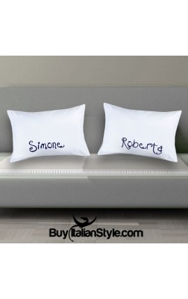 CUSTOM Couples pillowcases