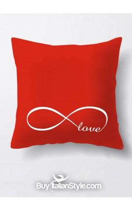 "Federa cuscino ""Infinity love"" per San Valentino"