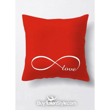Federa Per Cuscino Infinity Love Infinito Amore Per San Valentino
