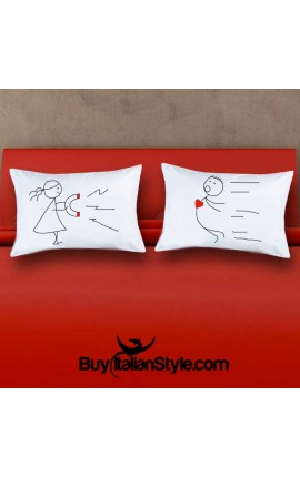Love Magnet Pillowcases