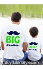 "T-shirt bimbo manica corta ""Little man"""