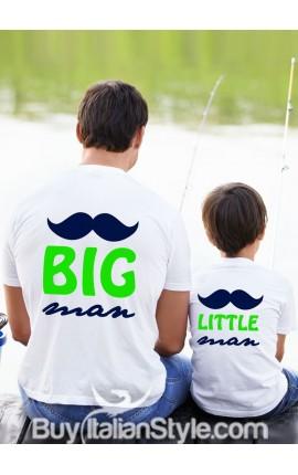 "T-shirt bimbo manica corta ""Little man"""