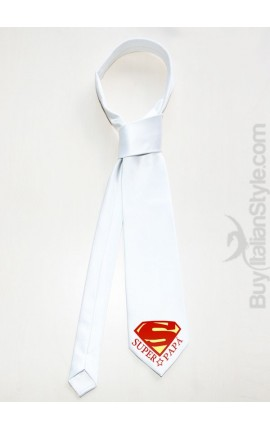"Men's Tie ""Super Dad"""