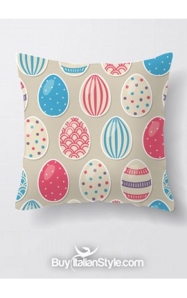 Pillow case with EASTER EGGS