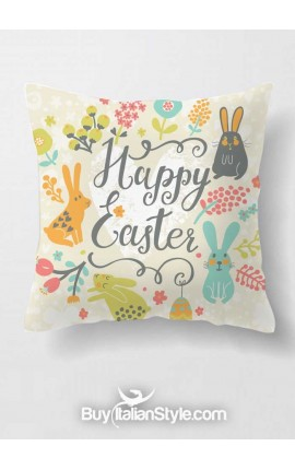 "Federa cuscino ""Happy Easter"""