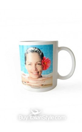 Personalized Coffee Mug with PHOTO and text