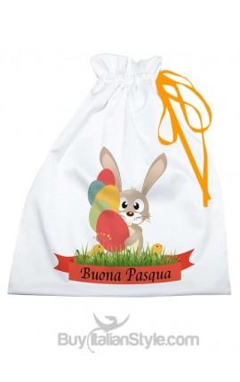 """Sacco porta regali """"Buona Pasqua"""""""