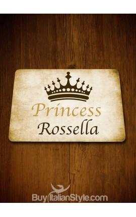 """Tovaglietta all'americana """"Princess""""- PERSONALIZZABILE con NOME"""