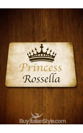"American placemat ""Princess"" - PERSONALIZABLE with NAME"