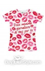 """T-shirt bimba """"Dose minima giornaliera di baci per te"""""""