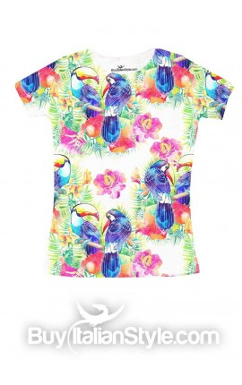 "T-shirt bimba ""TROPICAL"""