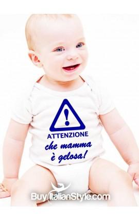 Bis abbigliamento neonato on-line body mamma gelosa