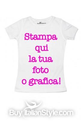 T-shirt femminuccia PERSONALIZZABILE
