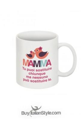 """Tazza con scritta """"MAMMA...."""