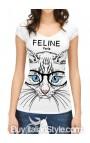 """Maglia """"Feline.paris"""""""