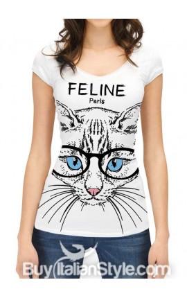 "T-shirt ""Feline.paris"""