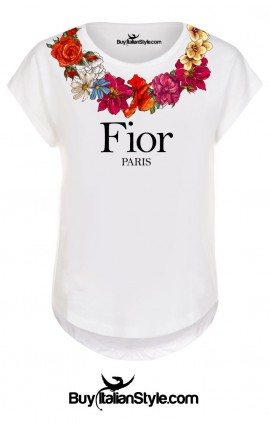 "Short sleeve t-shirt ""Fior"""