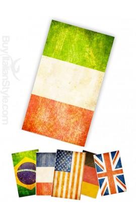 Beach Towel Flag Vintage Style