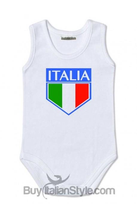 """Body neonato """"Italia"""""""