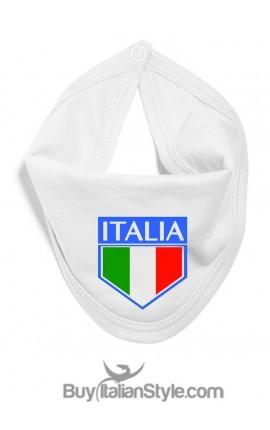 """Bavaglino con scudetto """"Italia"""""""