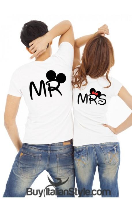 "T-shirt donna manica corta ""Mrs"""