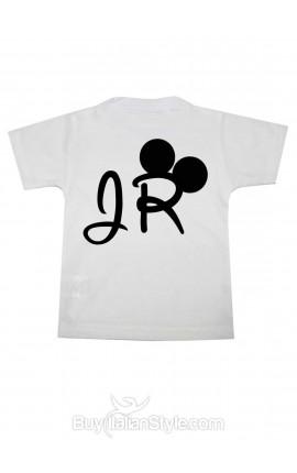 "Personalized Boy's T-Shirt ""Jr"""
