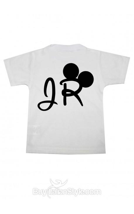 "T-shirt bimbo manica corta ""Jr"""